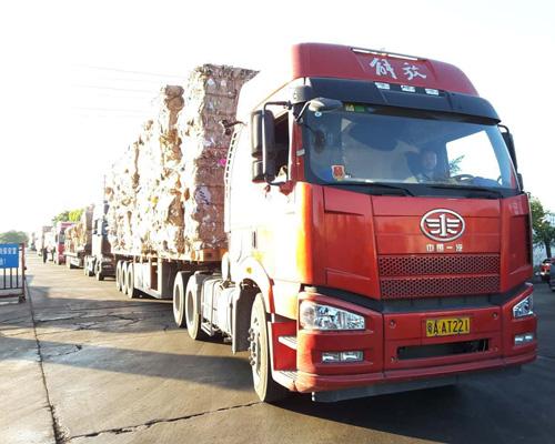 纸品物流运输